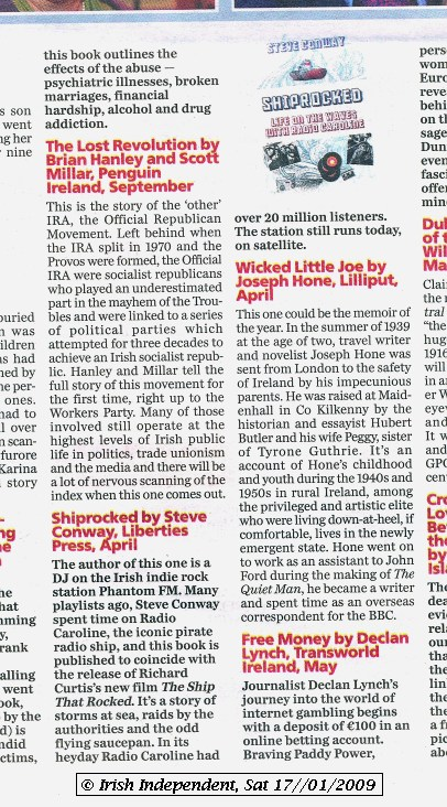Irish Independent - Review section (Books)
