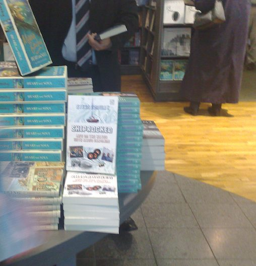 In The Shops - Shiprocked on sale in a Dublin bookstore