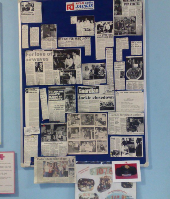Press cuttings from the 1980s