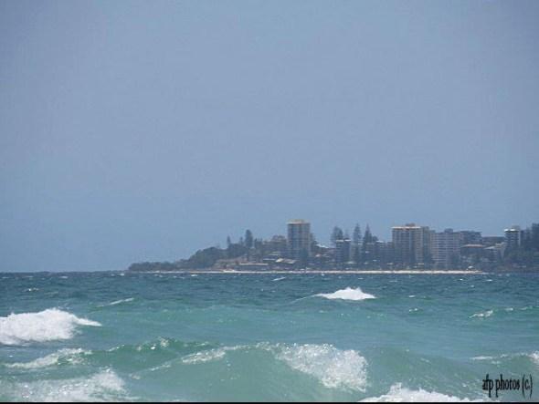 Australia's Gold Coast - Sea, Sun, Shimmering Cities . . . and great radio